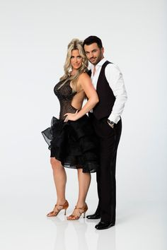 Kim Zolciak from Dancing With the Stars Season 21: Check Out the Cast!  The Don't Be Tardy star will be taking on the ballroom with veteran dancer Tony Dovolani.