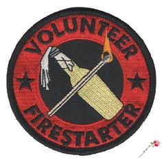 Become a Volunteer Firestarter today! This makes the perfect gift for that special anarchist in your life or that cool aunt you have. round patch with iron on back and heavy merrowed edge. Mos Def, Rogue Class, Power Rangers, Reece King, Jamison Fawkes, Howleen Wolf, Timberwolf, Catty Noir, Monster Prom
