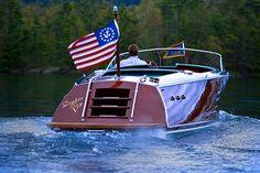 Mahogany Speed Boat Style