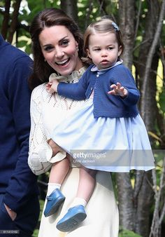 Royal Family Around the World: Prince George and Princess Charlotte of Cambridge carried out their first official joint engagement at a children's party for Military families during the Royal Tour of Canada on September 2016 in Carcross, Canada Princesa Charlotte, Princesa Kate, Duke And Duchess, Duchess Of Cambridge, Princess Charlotte Photos, Princess Diana, Victoria British Columbia, Victoria Canada, Prince William And Catherine