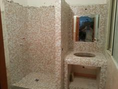 doccia in muratura : doccia in muratura