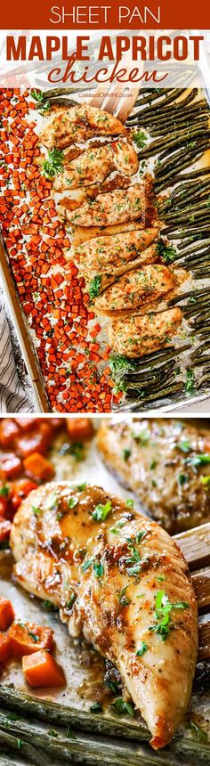 8970 best the most popular recipes on pinterest images on sheet pan maple apricot chicken is a crazy delicious and so easy the marinade that doubles as the glaze is everything its sweet and tangy with just the forumfinder Choice Image