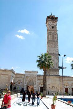 De oude moskee van Aleppo. Foto: Marco in 't Veldt