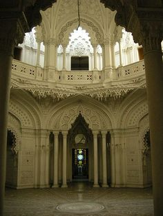 """Moorish & Neo-Moorish Architecture Around The World - Page 5 - SkyscraperCitym """"Villa di Sammezzano, near Florence, Italy A wonderful example of neo-moorish architecture, quite unique in Italy. The Villa, once a 5 star hotel, is now empty and abandoned, in search of a new destination. A SHAME!!"""""""