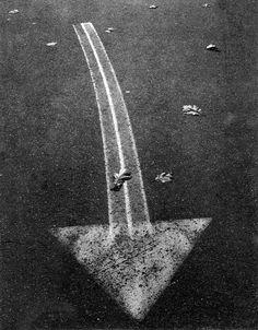 Street Arrow, Boston 1960 by Ansel Adams