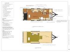 Free Tiny House Plans: 160 Sq. Ft. Rolling Bungalow Photo