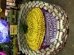 Whole foods produce department mangoes!