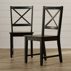 You'll love the Sally Cross Back Side Chair at Wayfair - Great Deals on all Furniture  products with Free Shipping on most stuff, even the big stuff.