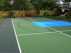 Kids Dream Sport Court W Rebound Net Home Sweet Home