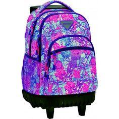 mochila escolar carro privata