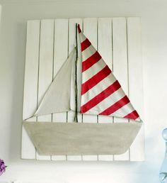 Decoración Náutica DIY : Aprende a realizar este increíble panel decorativo para ambientar un dormitorio de estilo náutico y marinero. para este proyecto necesitas los siguientes m