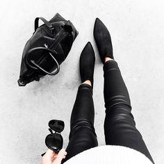 m o d e r n l e g a c y @kaity_modern   alexander wang bag - acne jensen boots - leather pants