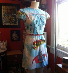 Comic maxi dress