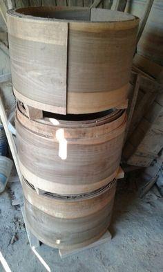 Walnut drums