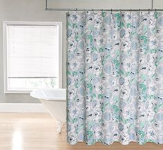 Regal Home Collections Printed Flower Fabric Shower Curtain, 70 by 72-Inch, Blue Regal Home Collections http://smile.amazon.com/dp/B00TCO2QOI/ref=cm_sw_r_pi_dp_mxp6vb0AT8S2P