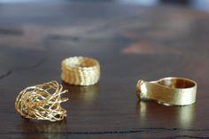 Yasuki Hiramatsu Rings