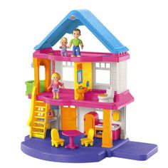 My First Dollhouse (Caucasian Family) - Fisher-Price Online Toy Store