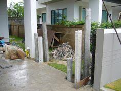 รับเหมาก่อสร้าง ต่อเติม รับสร้างบ้าน Front Service ช่วยท่านได้: รับเหมาก่อสร้างงานเสาเข็มหกเหลี่ยม