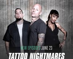 Season Premiere: Tattoo Nigtmares | artbytommyblog-- Tonight June 23, 2015. After the premiere of Ink Master. Badass Tattoos, Cool Tattoos, Awesome Tattoos, Tattoo Nightmares, Ink Master, Season Premiere, Cover Up Tattoos, Tattoo Artists, Storytelling