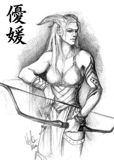Hello qunari archer! You look a lot like my Naquis