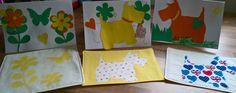 Mug rugs and cards for little Mr boos teachers