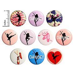 Amazon.com: Dance Buttons Dancer Pins for Backpacks or Fridge Magnets Ballet Jazz 10 Pack Gift Set 1 Inch 10P3-1: Handmade Funny Buttons, Work Jokes, I Love Bees, Jacket Pins, Dance Gifts, Work Gifts, Bee Gifts, Jazz, Backpacks