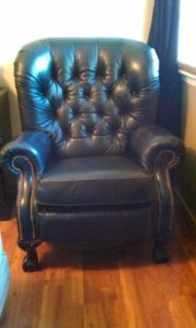 1000 Images About Chairs On Pinterest Leather Recliner