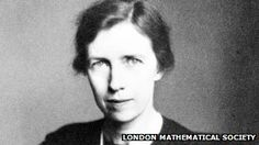 Mary Cartwright, mathematician and early founder of chaos theory.  A product of her time?  Not many men would have discounted the the importance of their work the way she seems to have done.