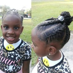 Cute protective styles for little girls. Love the Natural You. Learn more www.naturalmelife.com #naturalmelife #healthyhair #naturallymelife #twilightcurls #hairjourney #hair #growthovernight #fastergrowth #lovehair
