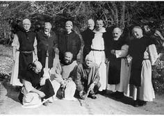The French Trappist monks of Tibherine, in Algeria. Seven were kidnapped by the Armed Islamic Group and murdered by decapitation. - AFP