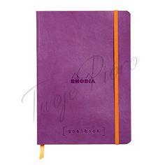 Notes Rhodia Boutique Rhodiarama Goalbook Purple A5 - kropki w kategorii goalbook / Rhodiarama / Rhodia / NOTESY, NOTATNIKI, ZESZYTY / PAPIER