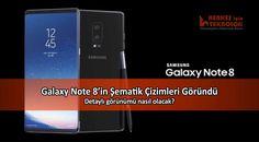 Samsung'un merakla beklenen yeni phableti Galaxy Note 8'in şematik çizimleri göründü. Şematik çizimlerin detaylarında neler var?