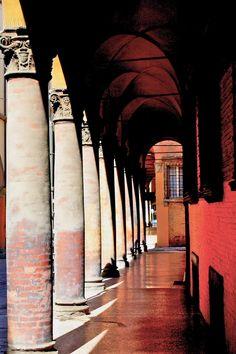 Via Castiglione - Bologna, Emilia-Romagna Italy