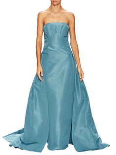Bandeau Neck Gown by Carolina Herrera at Gilt