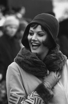 Marc Riboud // Claudia Cardinale (Italian actress). On set of italian movie SENILITÀ  (Mauri Bolognini 1962)