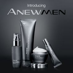 Skincare for men at #AVON - ANEWMEN Click on this link to learn more. youravon.com/marygraves