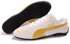 http://www.jordanabc.com/mens-puma-fur-889-white-yellow-black-on-sale.html MENS PUMA FUR 889 WHITE YELLOW BLACK ON SALE Only $75.00 , Free Shipping!