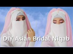 DIY Asian Bridal Niqab/Fairy inspired Niqab/Princess Niqab tutorial/Muslim Bridal Niqab - YouTube Hijab Fashion, Women's Fashion, Asian Bridal, Niqab, Muslim, Aurora Sleeping Beauty, Sisters, Fairy, Inspired