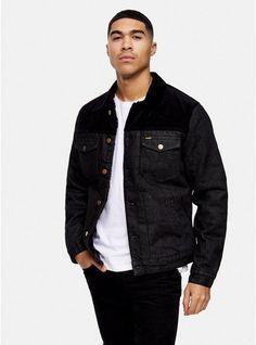 Jacket Images, Winter Hoodies, Menswear, Denim, Trending Outfits, Carousel, Coat, Topman Jackets, Interiors