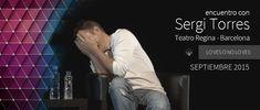 """Nuevo video SERGI TORRES - """"Lo ves o no lo ves"""" - Barcelona, Teatro Regina - Septiem..."""