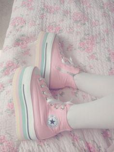 Pastel converse <3