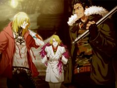 {Togainu no Chi} ~Gunji, Kiriwar, and Arbitro~ Fussing Prince
