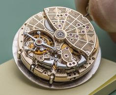 "Complicated Details In Bulgari​'s Haute Horlogerie Watches - learn more, see these mechanical marvels in greater depth in the extensive photo gallery - on aBlogtoWatch.com ""In the process of becoming the fully integrated, entirely capable watch manufacture that it is today, Bulgari has put vast resources and efforts into mastering all crafts of the watchmaking trade, bringing state-of-the-art facilities and master craftsmen under its roof…"""