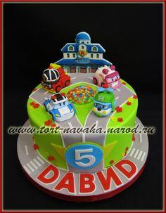 """Торт """"Робокар Полли"""" от пользователя «navaxa» на Babyblog.ru"""