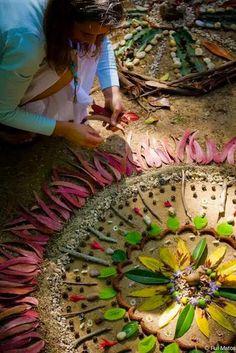 Här kommer ett nattligt blogginlägg om Mandalas :)     Åhhhh vad underbara kvällar och nätter vi har just nu.   Visst är det svårt att ...