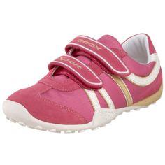 Geox Little Kid/Big Kid Jr Snake Girl Sneaker,Fuchsia/Yellow,31 EU (13 M US Little Kid) $70.00