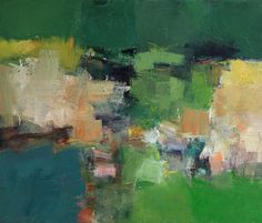 abstract oil painting by Hiroshi Matsumoto - one of my favorites