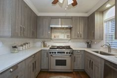 Victoria Stock Kitchen Cabinets Grey Color