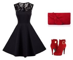 """""""Untitled #221"""" by elma-alibasic ❤ liked on Polyvore featuring 2 Lips Too and L.K.Bennett"""