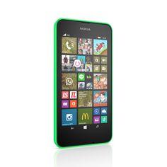 Nokia - Lumia 630 Green 3G �lypuhelin